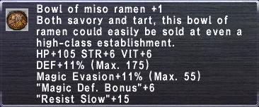 Miso Ramen +1
