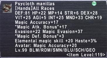 Psycloth Manillas