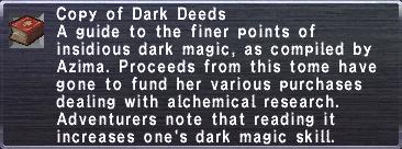 25 Dark Deeds