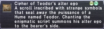 Cipher-Teodor