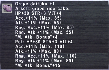 Grape daifuku +1