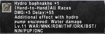 Hydro Baghnakhs plus 1