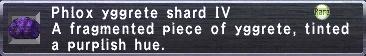 Phlox Yggrete Shard IV