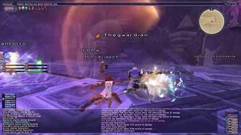 Resolution - Final Fantasy XI Great Sword Weapon Skill 4K