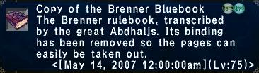 BrennerBluebook