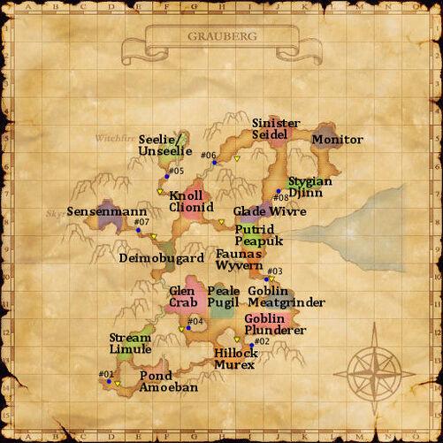 Grauberg map