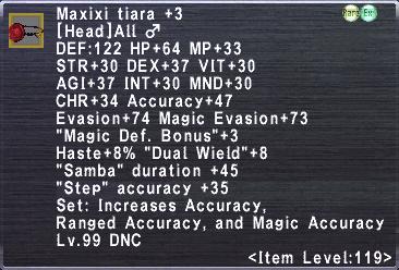 Maxixi Tiara +3 ♂
