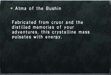 Atma of the bushin