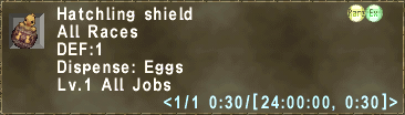 Hatchling shield