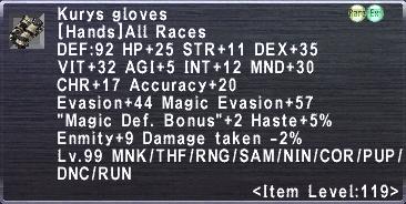 Kurys Gloves