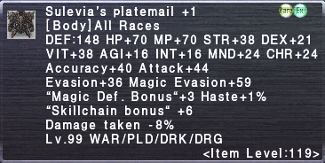 Sulevia's Platemail +1