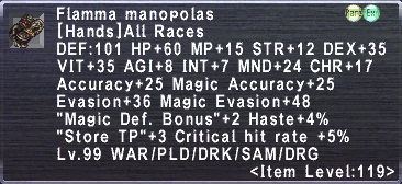 Flamma Manopolas
