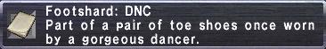 Footshard DNC