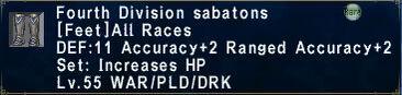 Fourth division sabatons