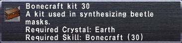 Bonecraft Kit 30