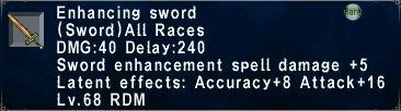 Enhancing Sword