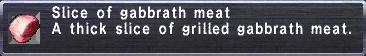 Gabbrath meat