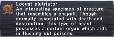 Locust elutriator
