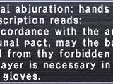 Neptunal Abjuration: Hands