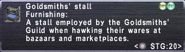 Goldsmith's Stall