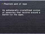 Phantom gem of rage