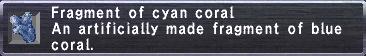 Cyan Coral