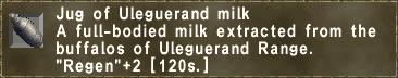 Jug of Uleguerand milk