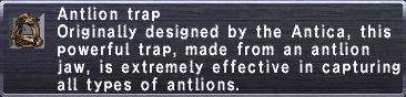 Antlion Trap