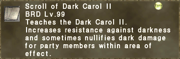 Scroll of Dark Carol II