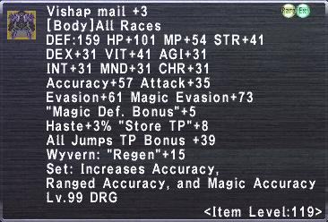Vishap Mail +3