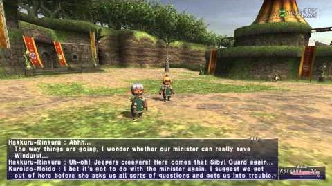 «FFXI-Movie» 0091 Win - Windurst Immigration