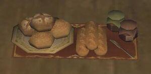 Bakery platter close up