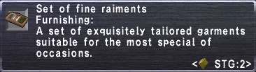 Fine Raiments