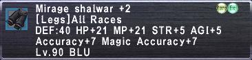Mirage Shalwar +2