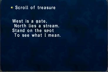 Scroll of Treasure