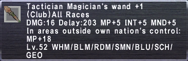 Tactician Magicians wand plus1