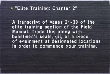 Training ch2