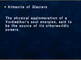 Atmacite of Glaciers