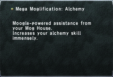 Mega Moglification Alchemy
