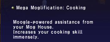 Mega Moglification Cooking