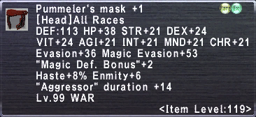Pummeler's Mask +1