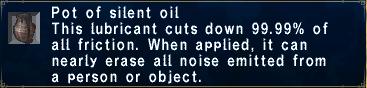 Silent Oil