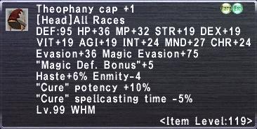 Theophany Cap Plus 1