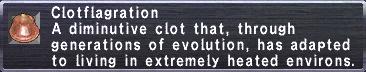 Clotflagration