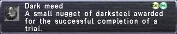Darkmeed