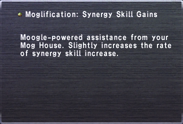 Moglification Synergy Skill Gains