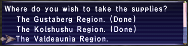 Supply quest selection