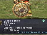 Cassie's Shield