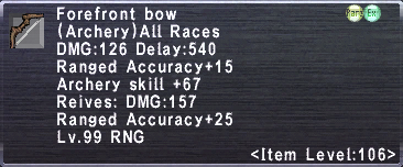 Forefront Bow