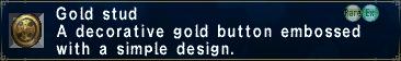 Gold stud